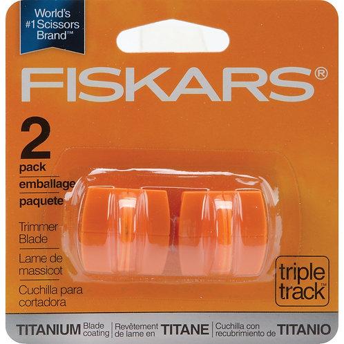 Titanium Replacement Trimmer Blade - Fiskars