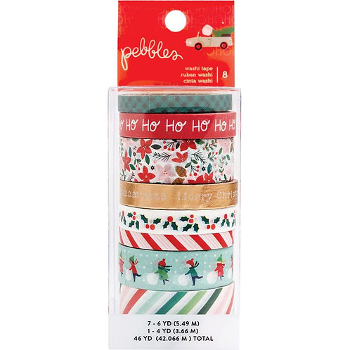 Merry Little Christmas Washi Tape 8 Rolls
