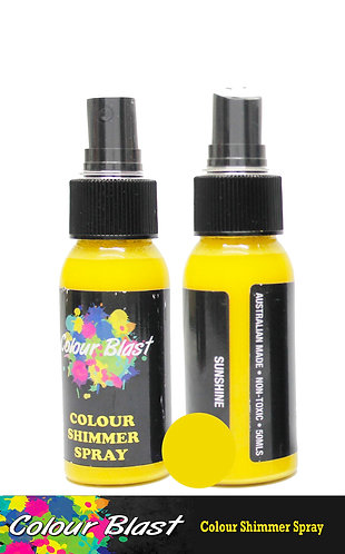 Sunshine Shimmer Spray - Colour Blast