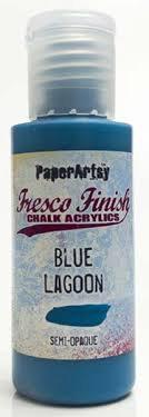 Blue Lagoon Fresco Paint
