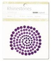Dark Purple Rhinestones - Kaisercraft