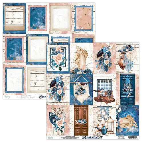 Harmony 06 12 x 12 paper