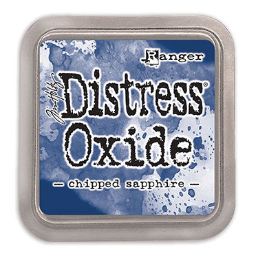Chipped Sapphire Oxide Ink - Tim Holtz
