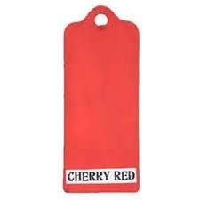 Cherry Red Fresco Paint