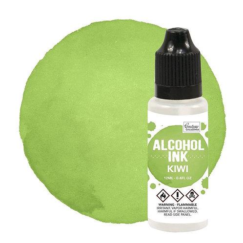 Kiwi Alcohol Ink
