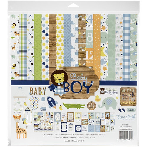 BABY BOY PAPER PACK from ECHO PARK