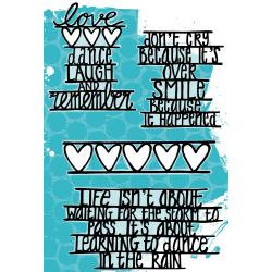 Smile, Love & Dancing - Art Journal