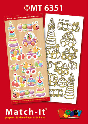 Todler Toys Match-it Stickers
