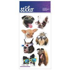 Funny Dogs Stickers