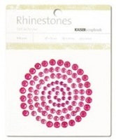 Hot Pink Rhinestones - Kaisercraft