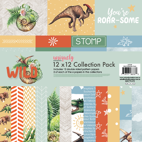 Wild 12 x 12 Paper Pack