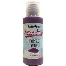 Purple Wine fresco Paint