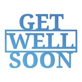 Get Well Soon Mini Die