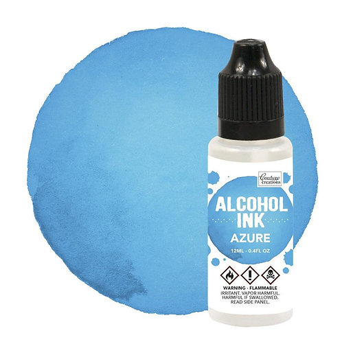 Azure Alcohol Ink