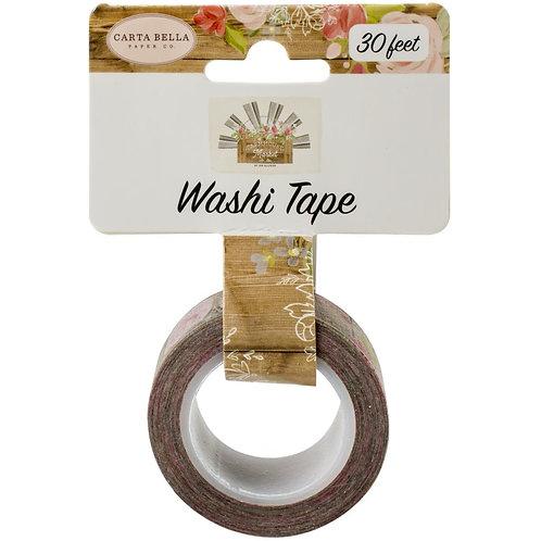 Farmhouse Floral Washi Tape