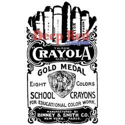 Crayola Crayons - Deep Red
