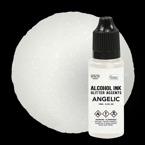 Alcohol Ink Glitter Accents - Angelic - 12mL