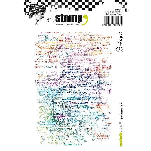 Overprint - Art Stamp