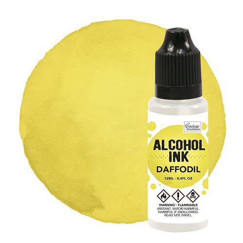 Daffodil Alcohol Ink