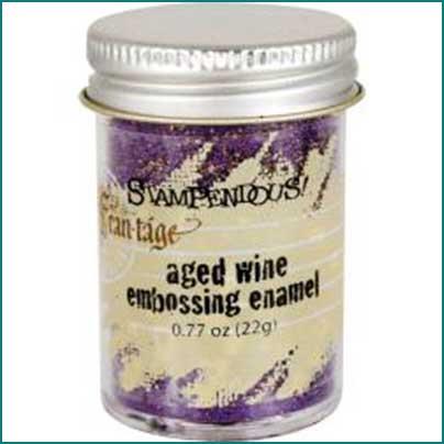 Aged Wine Embossing Enamel
