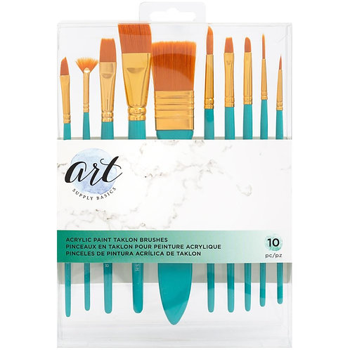 American Crafts Acrylic Brushes