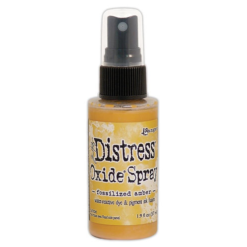 "DISTRESS OXIDE SPRAY ""FOSSILIZED AMBER"""