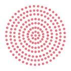 2mm Maraschino - Red Adhesive Gems