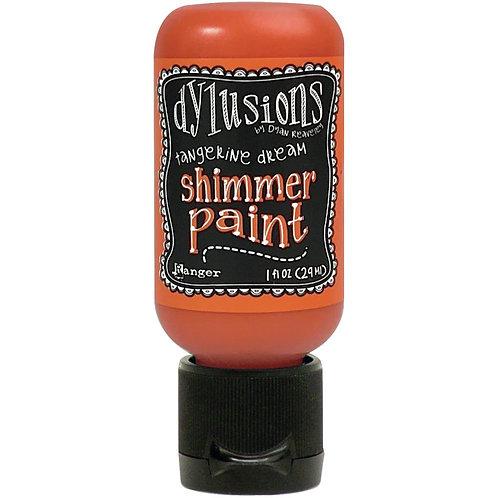 Tangerine Dream Shimmer Paint