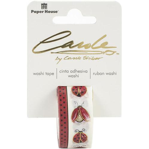 Ladybugs Washi Tape 2 Rolls