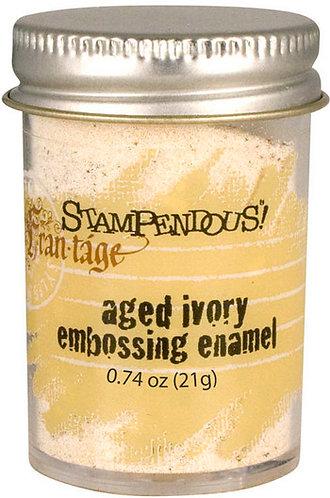 Aged Ivory Embossing Enamel