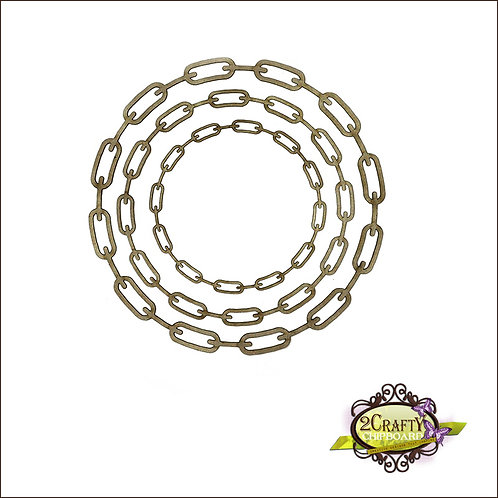 Chained Circle Frame