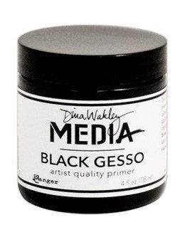 Black Gesso - Dina Wakley Media