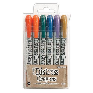 Distress Crayons 9 - Tim Holtz