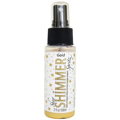Gold - Sheer Shimmer Spray