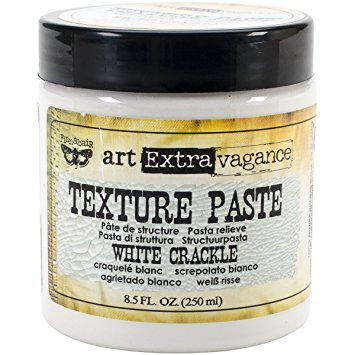 White Crackle Texture Paste
