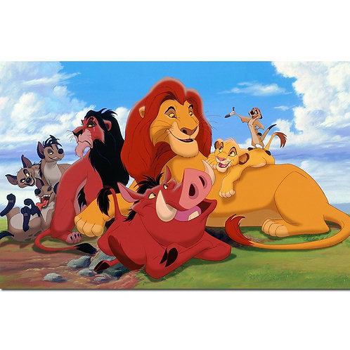 """DIY 5D GEM KIT """"lion king"""""""