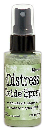 "DISTRESS OXIDE SPRAY ""BUNDLED SAGE"""