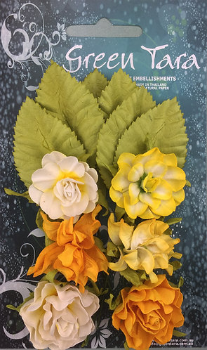Yellow Tea Roses