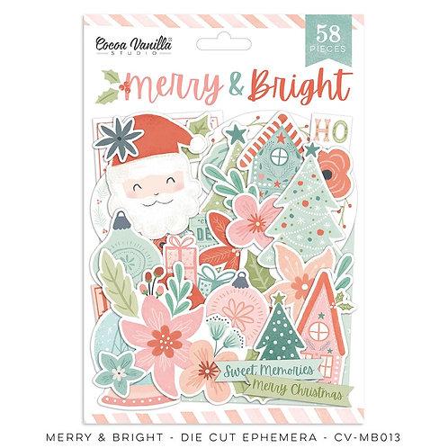 Merry & Bright Ephemera Pack
