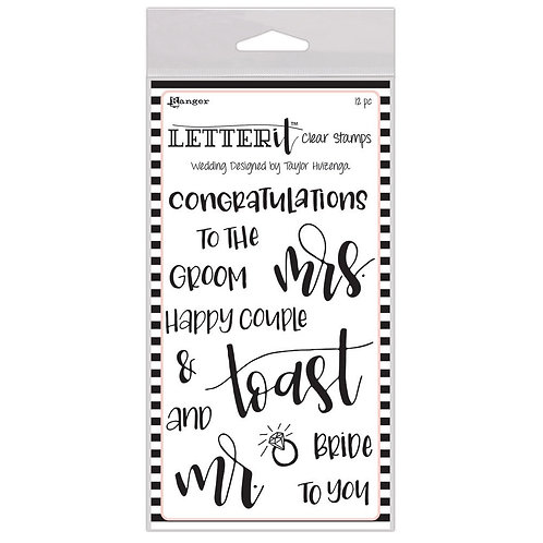 Wedding - Letter It Stamp