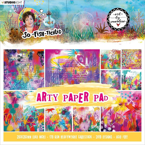 Arty Paper Pad So-fish-ticated