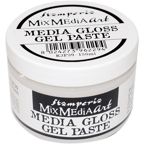 Media Gloss Gel Paste - Mix Media Art