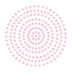 2mm Pink Lace Adhesive Gems