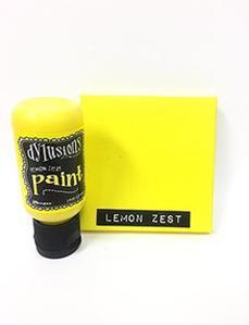 Lemon Zest Dylusions Paint