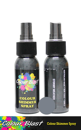 Stormy Weather Shimmer Spray - Colour Blast