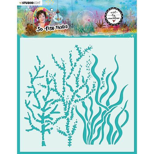 Seaweed Stencil