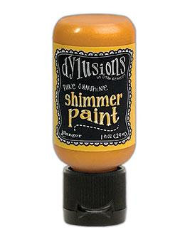Dylusions Pure Sunshine Shimmer Paint