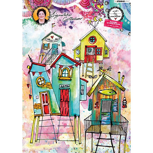 ART BY MARLENE WATERCOLOR PAPER PAD