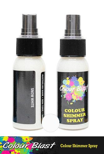 Snow White Shimmer Spray - Colour Blast