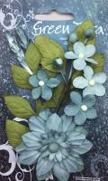 Botanical Garden Sky Blue